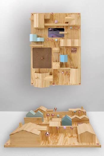 #portaoggetti da parete di #design. Suburbia #seletti #trazziarredamenti