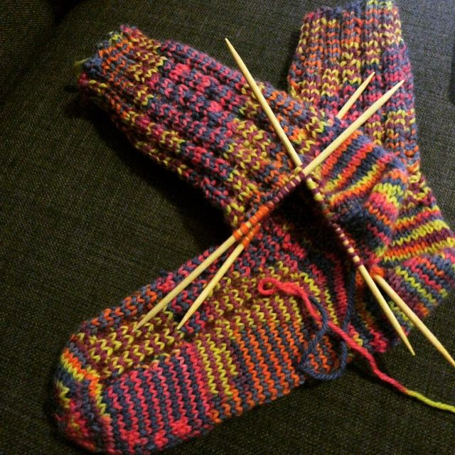 #knitting woolsocks