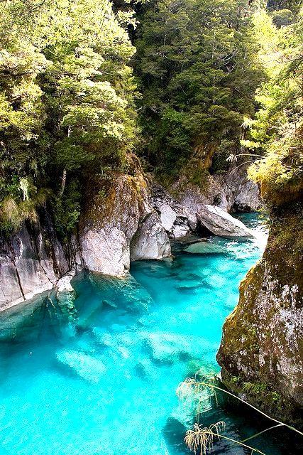 Blue Pools / Queenstown / New Zealand