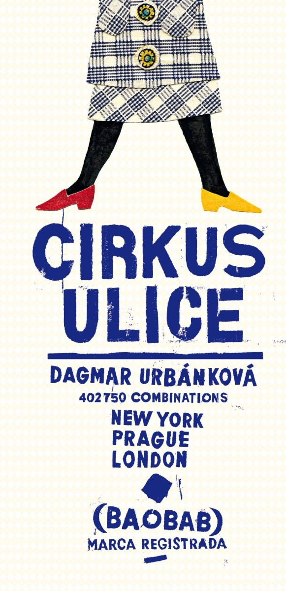 Cirkus ulice | české ilustrované knihy pro děti | Baobab Books