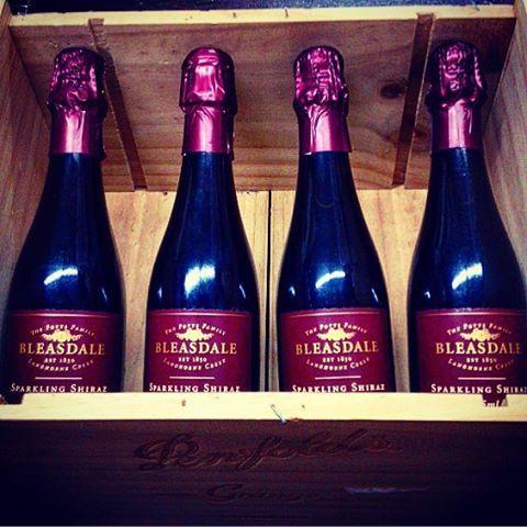 Bleasdale Sparkling Shiraz x Penfolds Grange box. 2 Aussie classics. Bleasdale is on special all this week - the perfect Xmas drop!  #shiraz #sparklingshiraz #bleasdale  http://www.halfbottles.com.au/sparkling/bleasdale_sparkling_shiraz_375mL