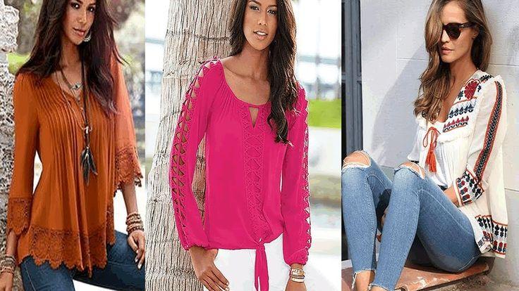 cool FASHION WOMEN BLUSAS HINDÚ SIEMPRE EN TENDENCIA  Las blusas hindú siempre las usamos para temporada, donde la tendencia nos deja combinar muy bien nuestros outfits. Blusas coloridas que deja ver l...