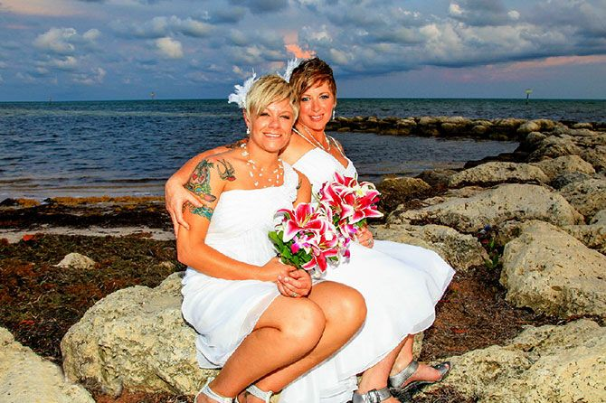 lesbian honeymoons in key west fl