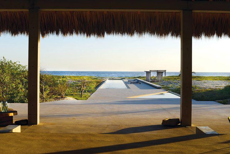 Casa Wabi, un espacio para el arte en Oaxaca Tadao Ando, Casa Wabi, Landscape Design, Airplane View, Rustic, Architecture, Places, Travel, Bungalows
