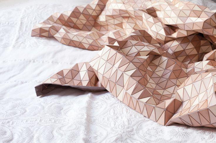 Drewniana tkanina | Niedzielne inspiracje | 01 - wnętrzologia