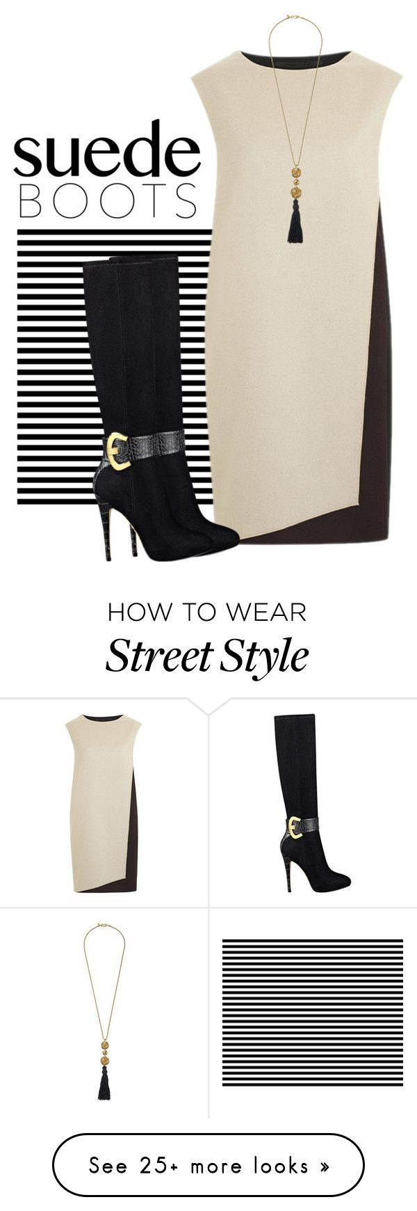 """Untitled #3651"" by barones-tania on Polyvore featuring PINGHE, GUESS and Kenneth Jay Lane"