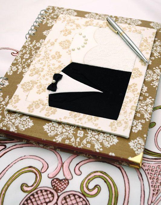 Livro de assinaturas com carton mousse / DIY, Craft, Upcycle