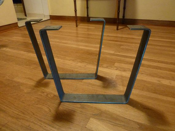 Metal coffee table legs 2 5 in steel flat bar trapezoid flats metal coffee tables and legs Aluminum coffee table legs