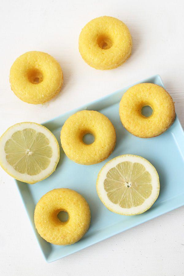 Zitronen Donuts - Schön und fein