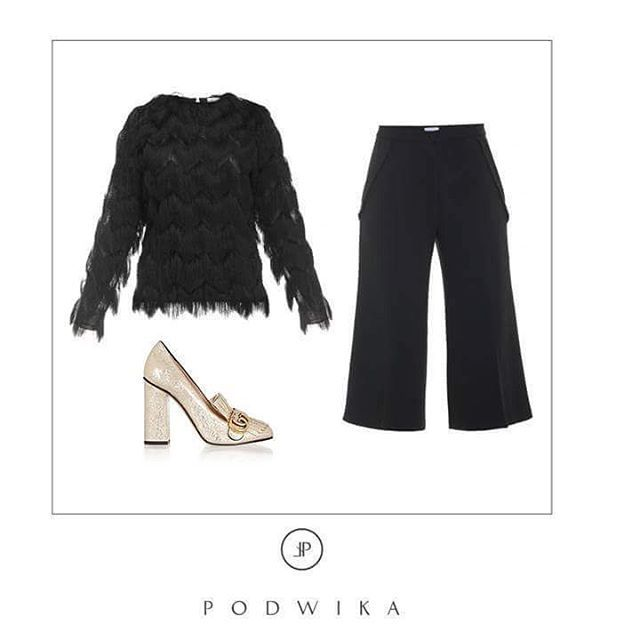 Elegant look by @podwikaofficial Shop now at @mostrami.pl /@shwrm / @loulou.spot / @popup_modo  #inspiration #fashion #elegant #elegantlook #podwika #bestlook #lookoftheday #elegantwoman #allblack #black