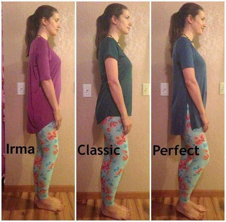 "comparison of the different tops  Shop LuLaRoe on Facebook by searching, ""LuLaRoe with Tiffany Braunel""!"