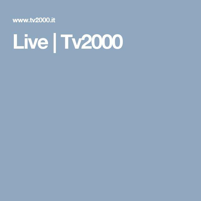 Live | Tv2000