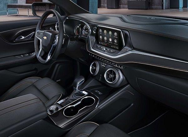 Chevrolet Blazer Interior In 2020 Chevrolet Blazer Chevrolet Chevy