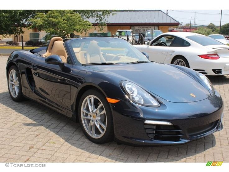2013 porsche boxster dark blue metallic color luxor beige interior porsche boxster. Black Bedroom Furniture Sets. Home Design Ideas
