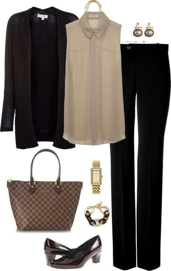 Cardigan Outfits For Work 9 #Cardigan #Outfits #Work