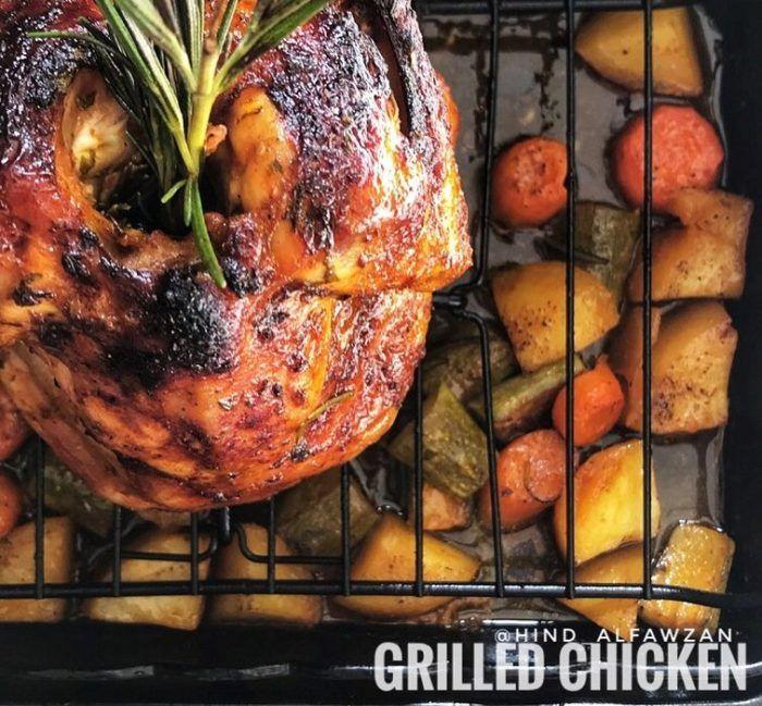طريقة عمل تتبيلة الدجاج المشوي بالفرن Food Chicken Turkey