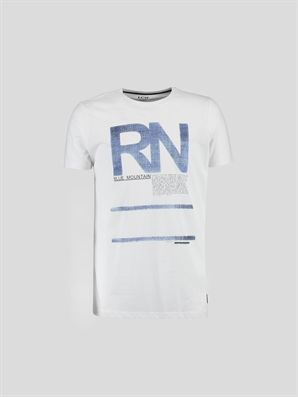 White Printed Regular Crew Neck T-Shirt, Urun kodu: 6YE234Z6-J5E,Product Type:T-shirts,Design:Printed,Fit:Regular,Neck Type:Crew Neck,Main Fabric:%100 Cotton,