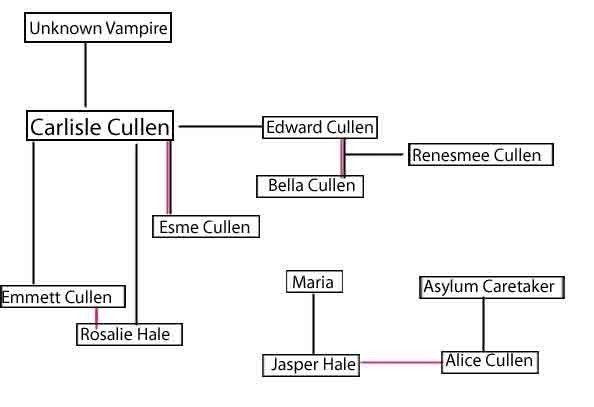 Cullen Family Tree Twilight Memes Twilight Facts Stephenie