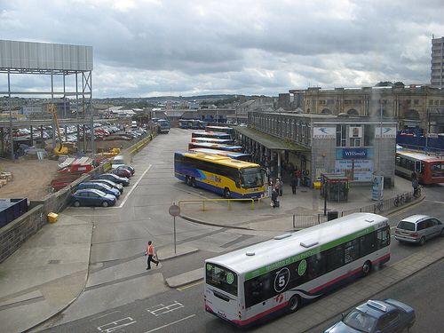 Guild Street- Aberdeen Bus Station pre Union Square development.