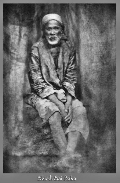 Shirdi Sai Baba real Picture Cropped