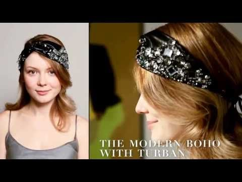 The Modern Boho Hairstyle the Colette Malouf Way - YouTube
