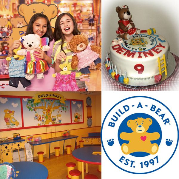 When it's time for a party, it's time for Build-A-Party!  We're the one-stop shop for everything you need to make it a celebration to remember! We have parties for any occasion — birthdays, team-building outings, charitable events and more.  Build-A-Bear is a one-of-a-kind global brand that kids love and parents trust. With more than 20 years of making special memories one furry friend at a time, we're grateful to the millions of Guests around the world who will always be part of our family…