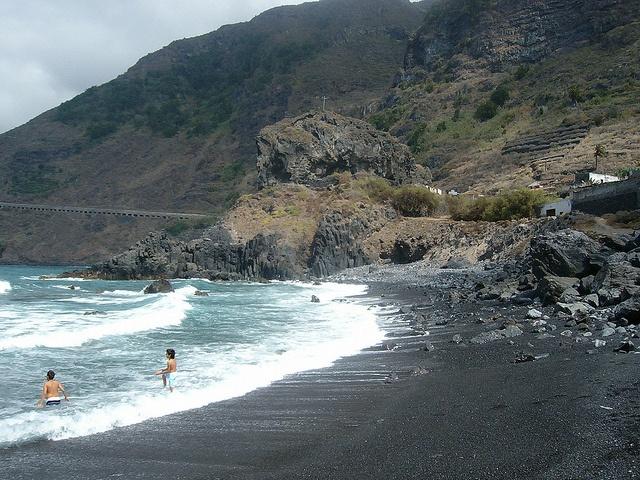 San Roque, una playa para el recuerdo
