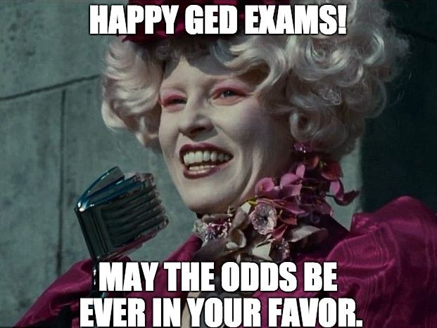 We've been posting academic stuff in the past weeks, so we thought of a #meme this time. Hope this made you smile today! We know you can pass your exam.  PREPARE well and you'll ace your GED! Always remember to believe in yourself and the universe will conspire!  #Study #Guide #TestPrepToolkit #GEDStudy #GEDPracticeTest #OnlineClasses