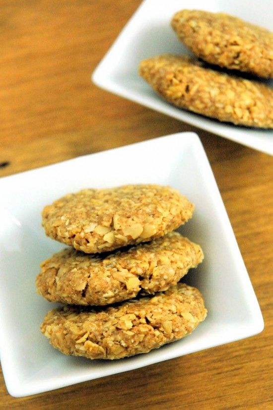 Raw Almond Oat Cookies   A Dash of Compassion #veganMonster