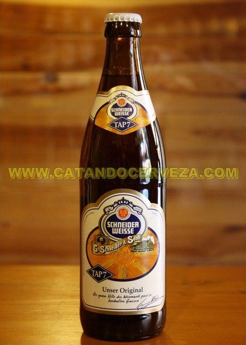 Comprar cerveza de trigo Schneider Weisse Tap 7 en la mejor tienda de cerveza online http://www.catandocerveza.com/cervezas-trigo/45-comprar-cerveza-schneider-weisse-tap-7.html   no encontraras un regalo mejor por ser util, económico y original.