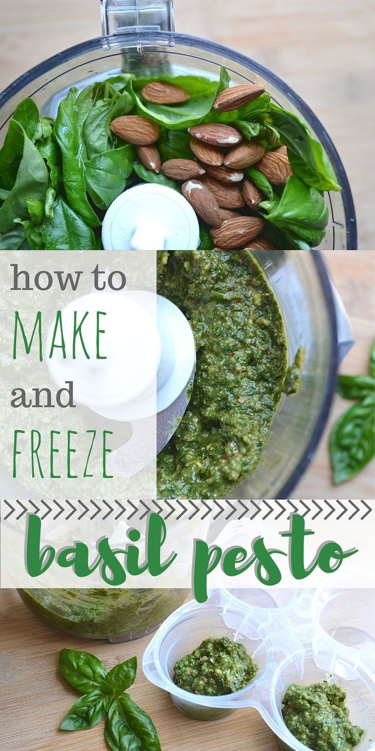 Only 5 ingredients needed for this classic basil pesto recipe. Includes nut substitutions. Full step-by-step instructions for freezing the finished pesto. Great to have on hand when you need to enhance a last-minute meal!