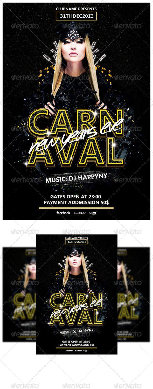 Carnival NYE Flyer