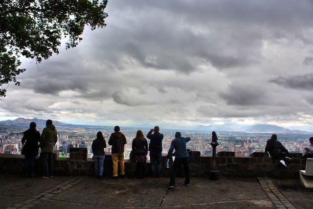 CHILE ES PAISAJE: SANTIAGO, después de la lluvia.