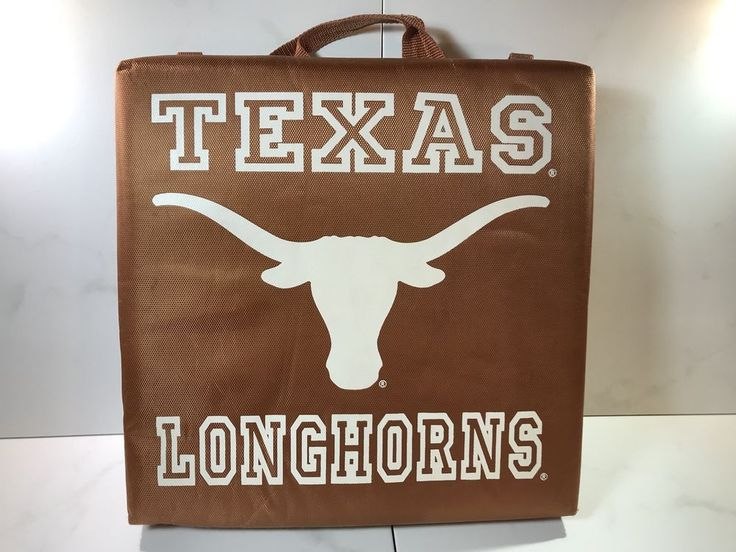University Of Texas NCAA Longhorns Stadium Cushions. X 2  | eBay