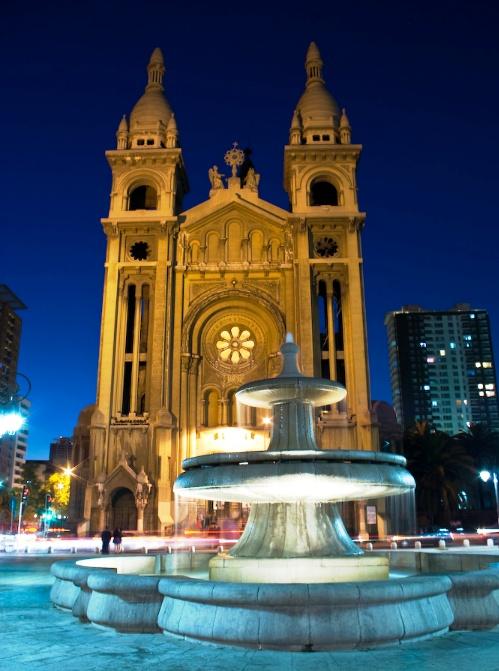 Sacramentinos church, Santiago, Chile.