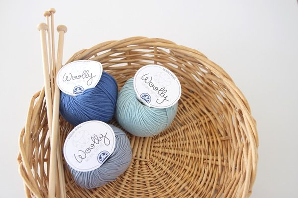 Image of DMC Woolly - Luxurious Blue Hues