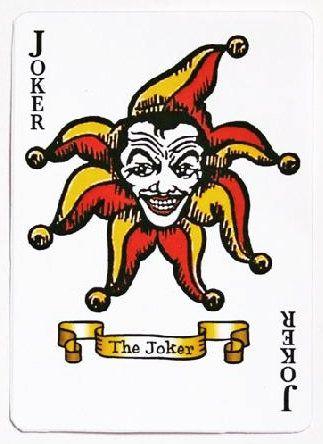 Jack Nicholson's Joker Card from Batman (1989)