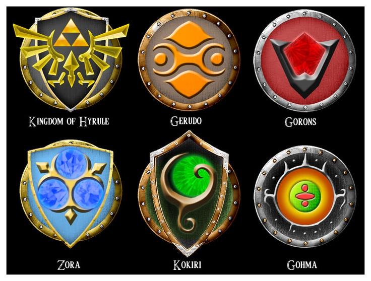 LoZ Symbols Crush Pinterest Symbols