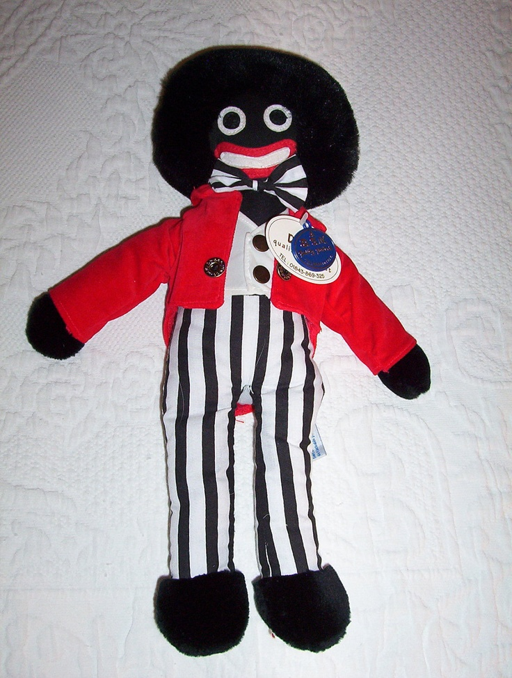 GOLLIWOG. I have one. They are so cute.