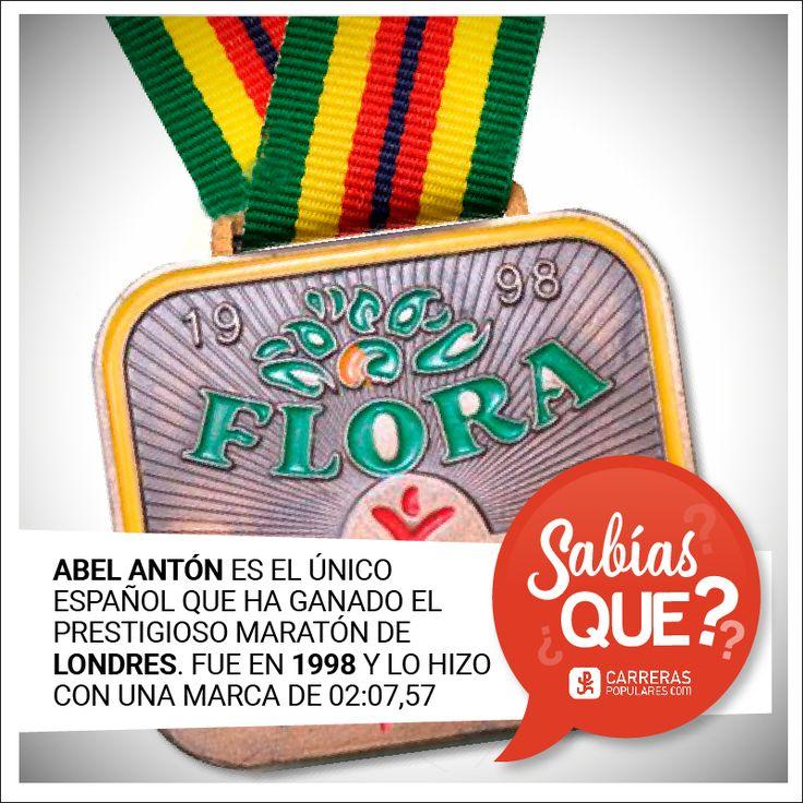 Abel Antón es el único español que ha ganado el prestigioso maratón de Londres (1998)