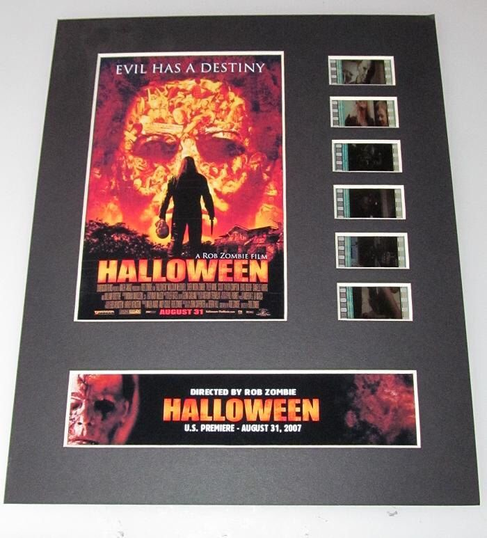 Halloween 2007 Rob Zombie horror Frame Ready Matted Movie 35mm Film Cells Standard Series 8x10 Display by RescuedHollywood on Etsy https://www.etsy.com/listing/206948975/halloween-2007-rob-zombie-horror-frame