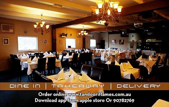 Tandoori Flames is a decorated Indian restaurant order online in Indian restaurants food