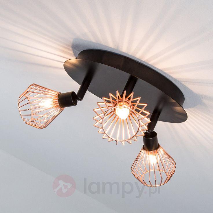 Piękna, trzypunktowa lampa na planie koła Dalma 1509094