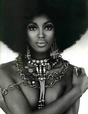 adorned: Black Is Beautiful, Natural Beautiful, Black Hair, Funky Fashion, Black Power, Natural Hair, Black Beautiful, Naomi Campbell, Black Women
