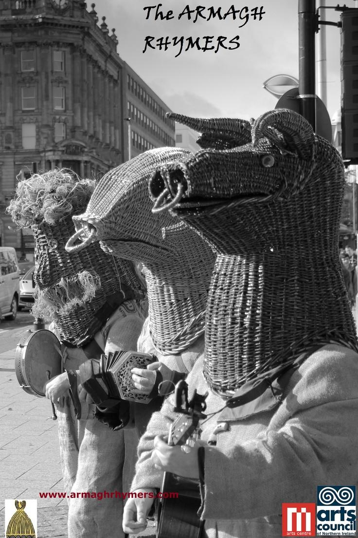 Belfast: Acht na Gaeilge (Irish Language Act 2012) - bodhran, songs, concertina, guitar
