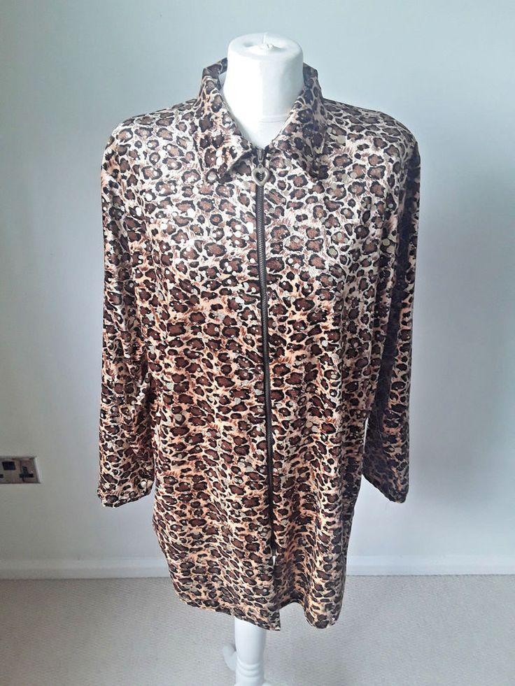 velour leopard print top #handmade #leisurewear #Casual