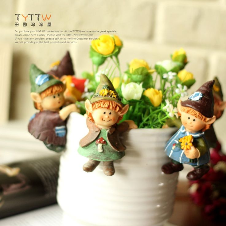 Aliexpress.com : Buy Flower pot flower decoration resin fairy flower pot from Reliable flower pots square suppliers on Lore 's Decoration Flowers Store. $38.99