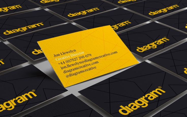 Business cards http://diagramcreative.com/diagram-identity-update/
