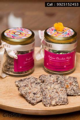 Celebrate this Rakshabandhan with lovely goodies bt #CocoaDrama!  #gifting #chocolates #teacakes #cakes #sweet #brownie #baklava #cityshorahmedabad