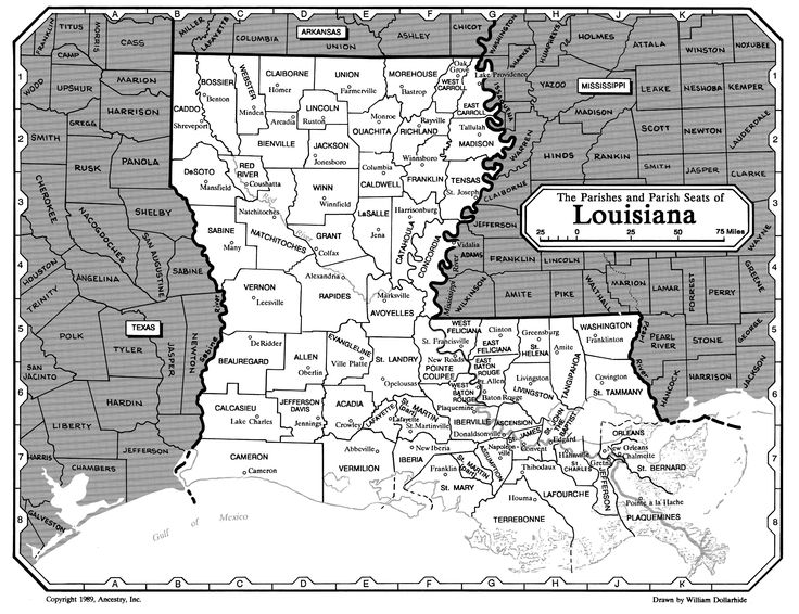 All about genealogy and family history - Louisiana Family History Research - Ancestry.com Wiki